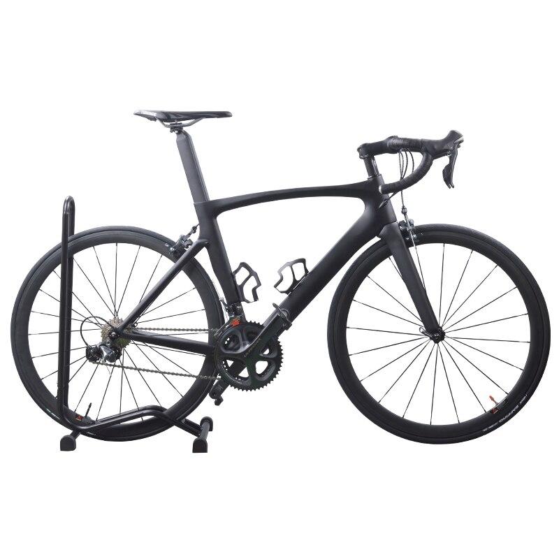Seulement 7.9 kg 700C fibre de carbone vélo complet Aero cyclisme BICICLETTA course vélo de route complet avec groupe Ultegra 6800