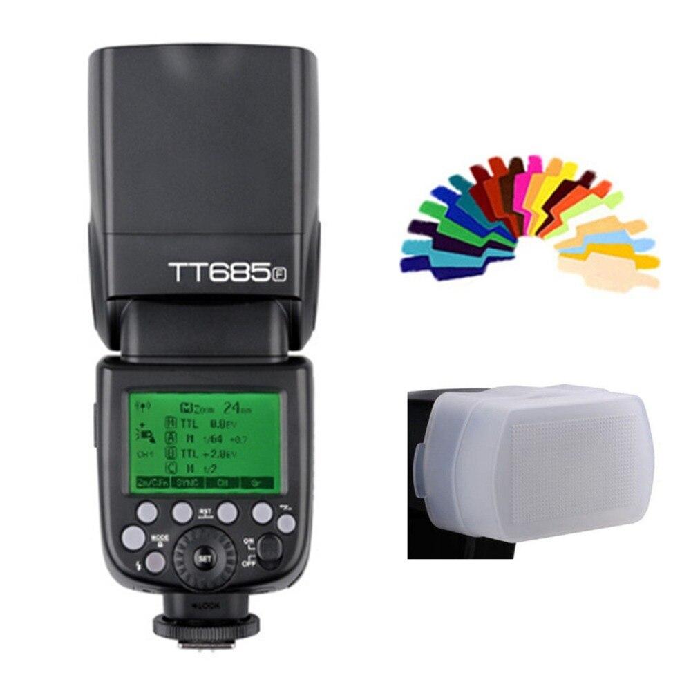 Godox TT685 Flash TTL Caméra Flash speedlite Haute Vitesse 1/8000 s GN60 pour Canon Nikon Sony Fuji Olympus Appareil Photo REFLEX NUMÉRIQUE