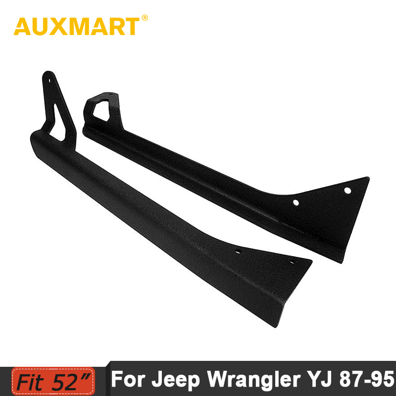 цена на Auxmart for Jeep Wrangler YJ 1987-1995 light bar mounting bracket 52