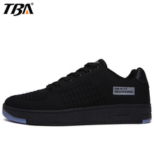 TBA Fly line Fabric Running Shoes For Men Large Size 37-47 Sport Shoes Man Brand 2017 Outdoor Jogging Breathable Men's Sneakers