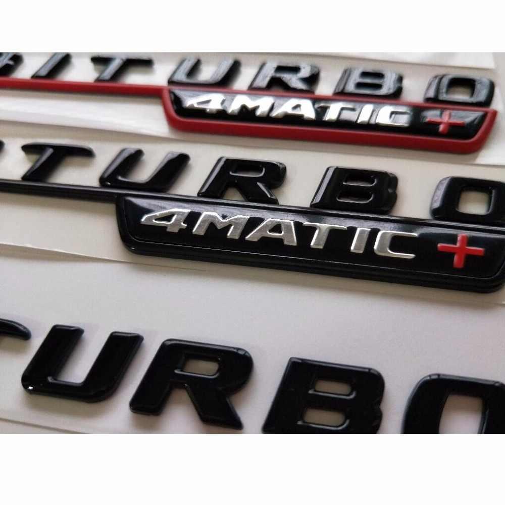 Gloss Black E43 E63 E63s V8 BITURBO 4MATIC+ Fender Trunk Emblem Emblems Badges for Mercedes Benz AMG W207 W211 W212 W213 Coupe