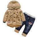 Anlencool 2017 Crianças ternos de algodão novo garoto criança algodão casual suits bombeamento Okinawa âncora roupa do bebê frete grátis