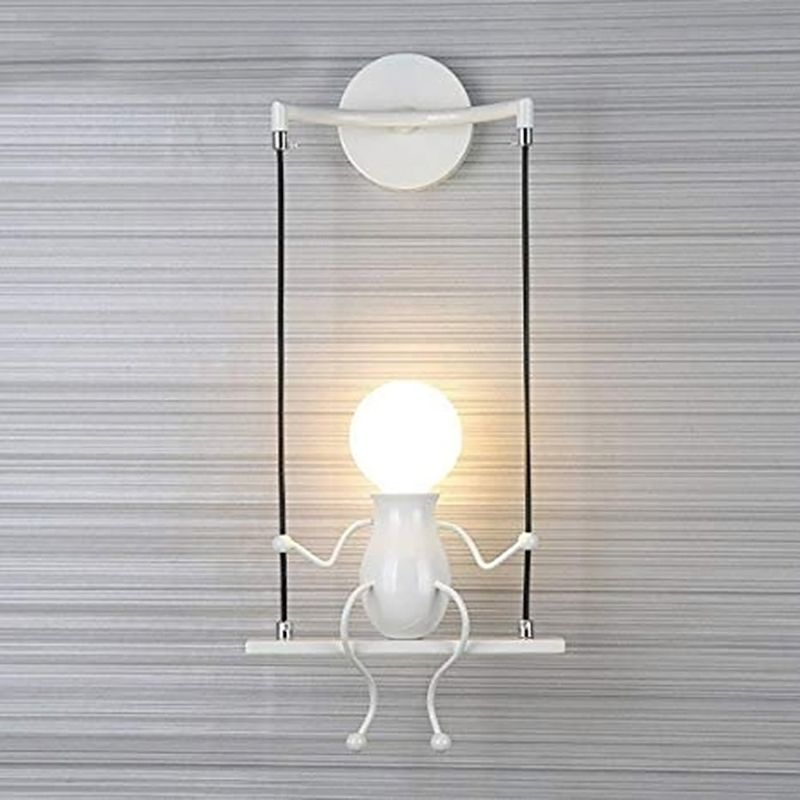 Novelty Led Wall Lamp Swing Shape Decoration Aisle Sconces Modern Wall Light Home Appliance Parts Air Conditioning Appliance Parts