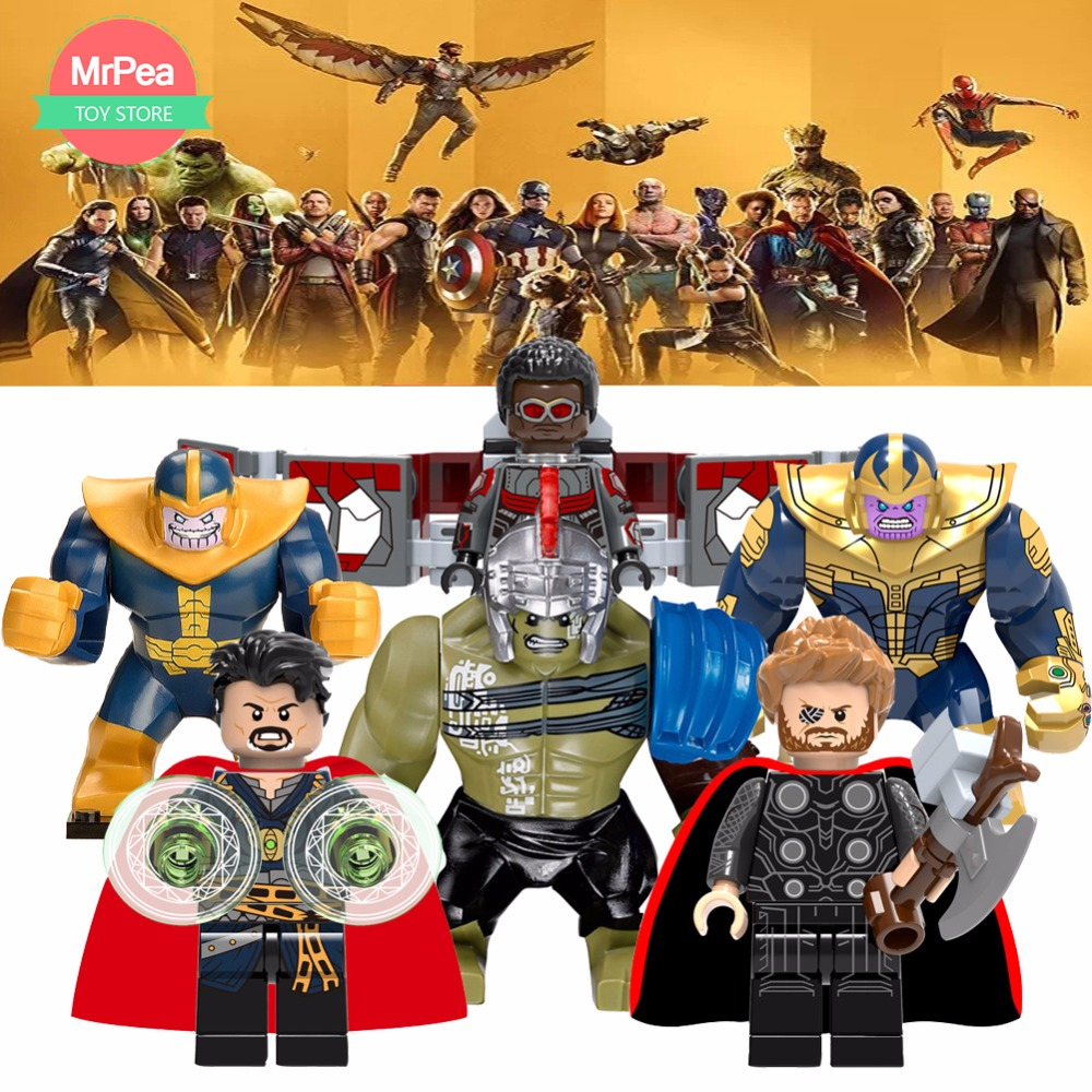 For legoing Marvel 10th anniversary Super Heroes Avengers Guardians of the Galaxy Batmanflash DC Building Blocks Toys Figures heroclix sargon the sorcerer 25 experienced dc 75th anniversary