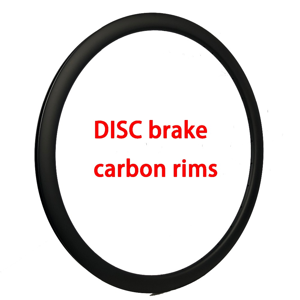 Disc Brake Carbon Rim 20/35/38/45/50/60/88mm Deep 23mm 25mm 26mm Wide Wheels 3K/UD/12K Tubular/clincher/tubeless No Brake Suface