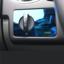 Нержавеющая сталь внутренняя окисление украшения Фары Ручка Панель рамка для Ford Focus 2009 2010 2011 2012 2013 AA202