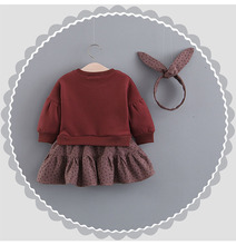 Baby Girls Dress Long-sleeve Clothes