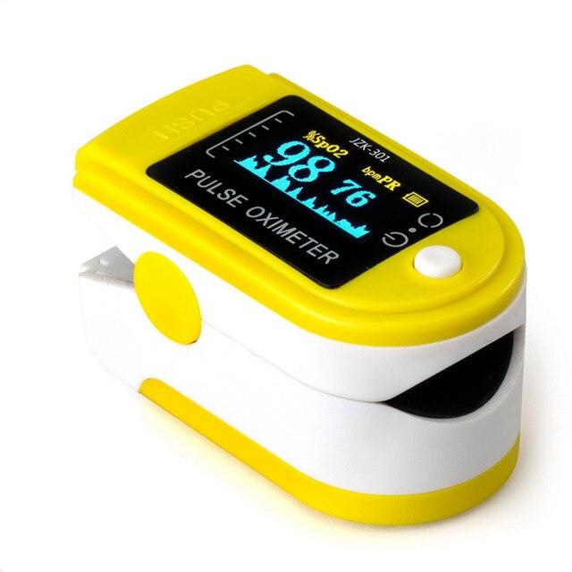 LED Blood Pressure Oxygen Finger Fingertip Pulse Oximeter Oxymeter Monitor Drop Shipping Wholesale