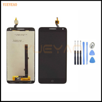 YUEYAO Black Full LCD Display Touch Screen Digitizer Assembly For Alcatel One Touch Pop 3 5