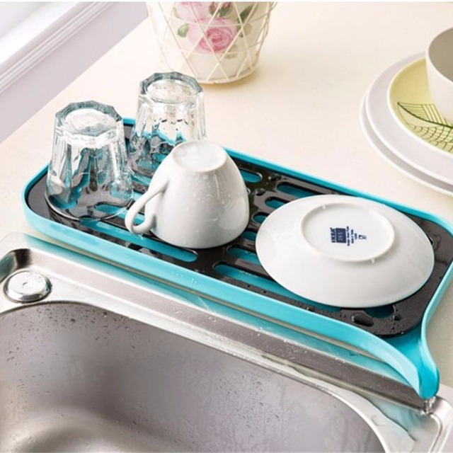 NAIYUE New Companion Dishes Sink Drain and Plastic Filter Plate Storage Rack Kitchen Shelving Rack Drain & NAIYUE New Companion Dishes Sink Drain and Plastic Filter Plate ...