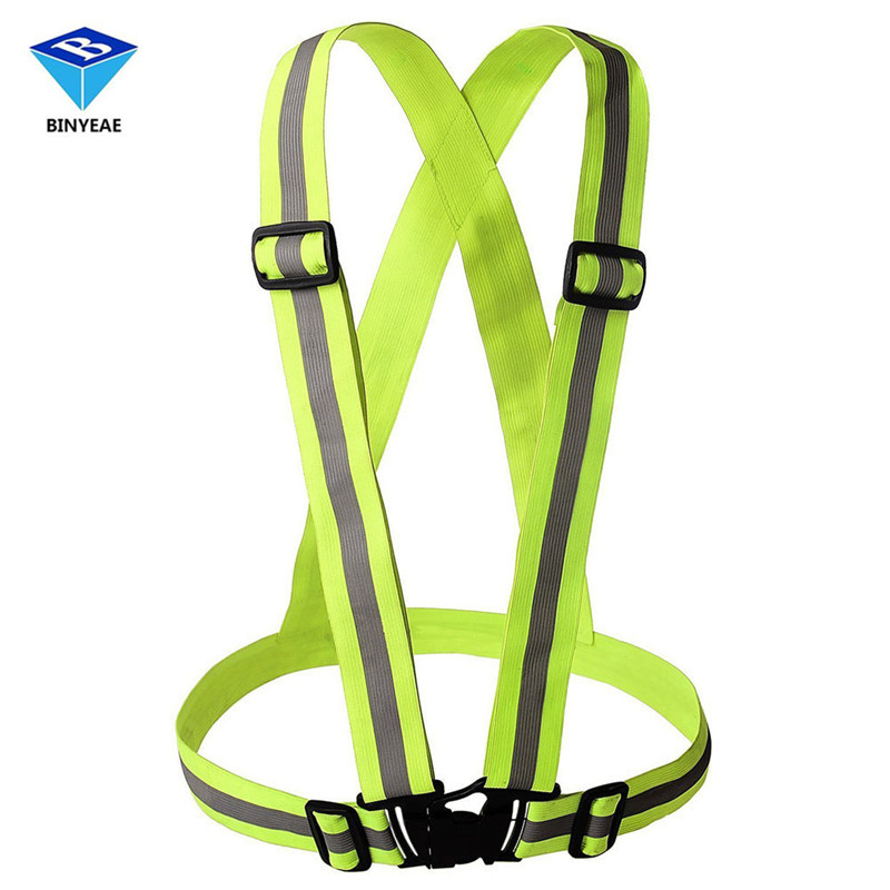 Unisex Safety High Visibility Reflection Vest Waistcoat Outdoor Running Cycling Vest Harness Reflective Belt Safety Jacket 2xu unisex membrane vest