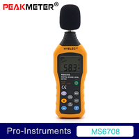 MS6708 Multi Function Noise Tester Professional 30 130 dB Sound Meter Sound Level Meter Null