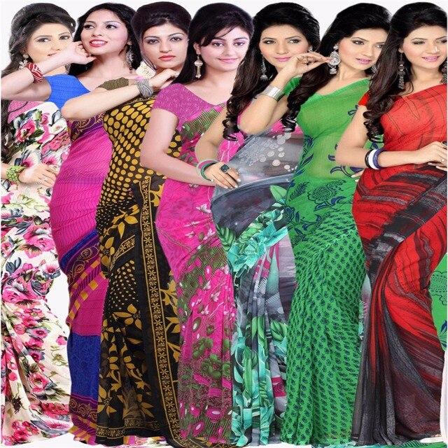 Sari indio desnudo de las mujeres