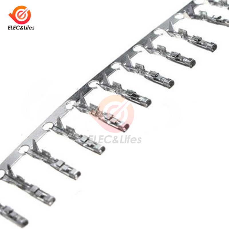 Dupont-boîtier de câble de fil | Boîtier de câble, boîtier de connecteur à broche femelle/mâle 100 pièces/lot 2.54mm