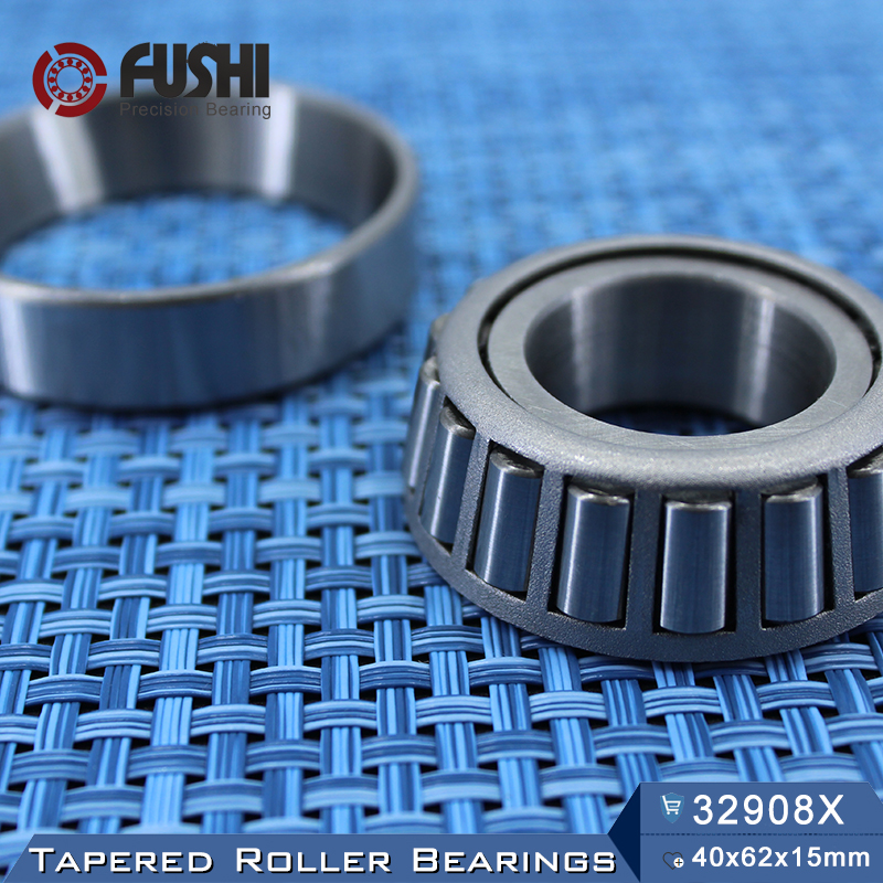 32908 X Bearing 40*62*15 mm ( 1 PC ) Tapered Roller Bearings 32908X 2007908 Bearing 30303 bearing 17 47 15 5 mm 1 pc tapered roller bearings 30303 x 7303e bearing