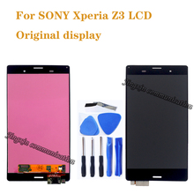 5.2 original display For SONY Xperia Z3 LCD display + touch screen instead for SONY Xperia Z3 L55T D6603 D6616 D6653 D6683 LCD чехол для для мобильных телефонов for sony sony xperia z3 xperia z3 d6603 d6653 nfc for sony xperia z3 d6603 d6643 d6653 d6616