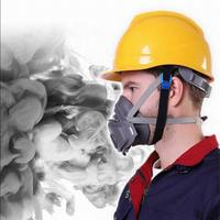 3200 Filters Half Face Dust Gas Mask Respirator Safety Protective Mask Anti Dust Anti Organic Vapors PM2.5 Fog Masks