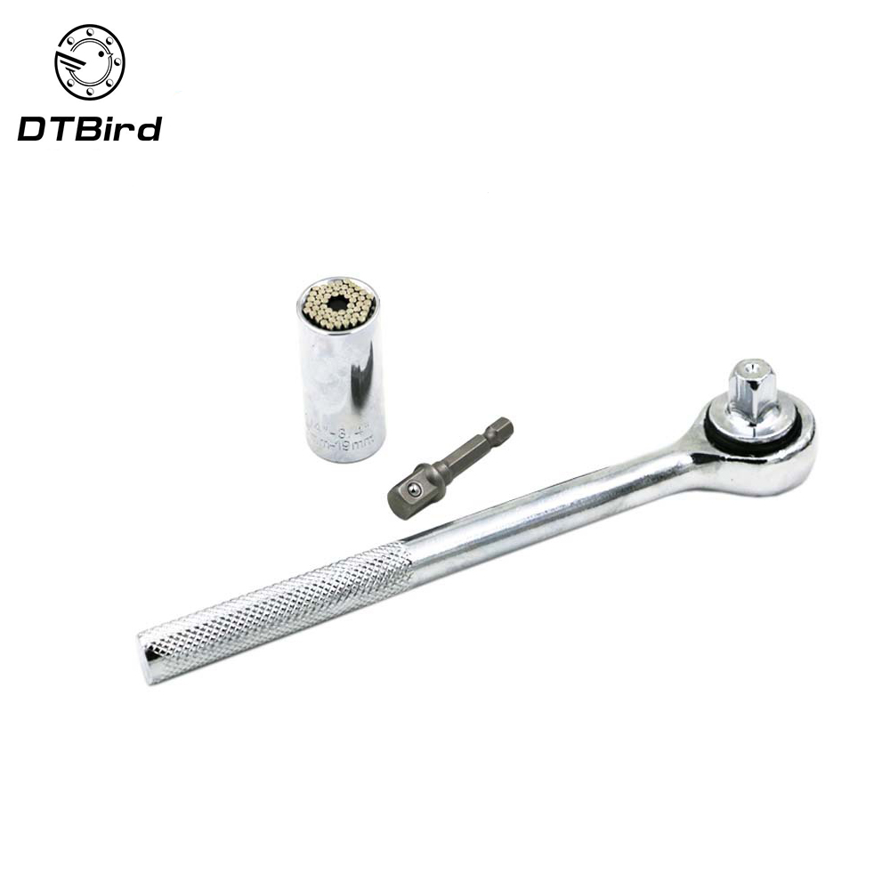 Multi Function Socket Wrench Head 3/8