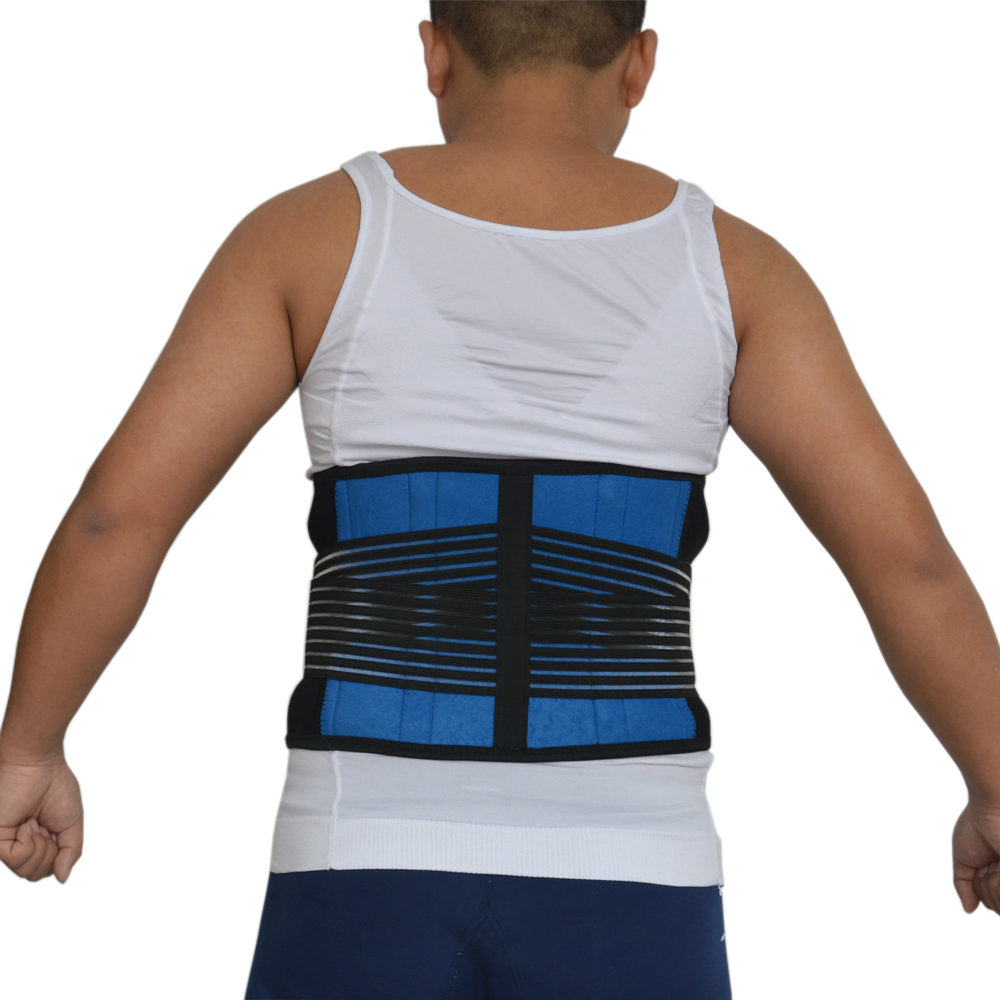 Men Waist Support Belt Women Lumbar Brace Breathable Protection Back Absorb Sweat Fitness Sport Protective Gym Lumbar Band S-3XL