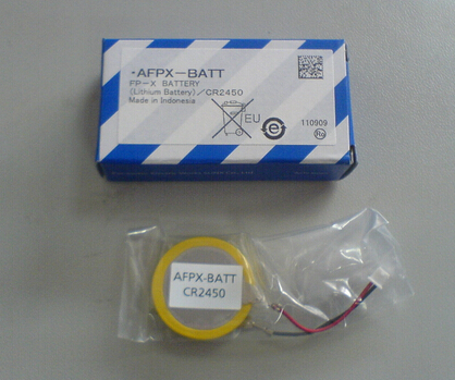HOT NEW AFPX-BATT( CR2450 3V ) AFPX BATT FP-X PLC backup lithium battery with plug