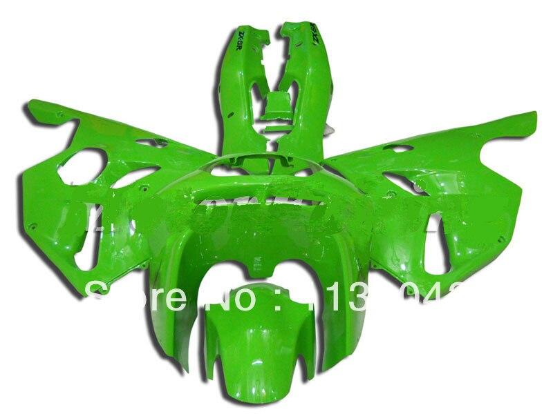 Hotlike Custom green fairing kit For KAWASAKI NINJA ZX6R ABS #j88v ZX-6R ZX 6R 94 95 96 97 ZX 6R 1994 1995 1996 1997 Bodywork