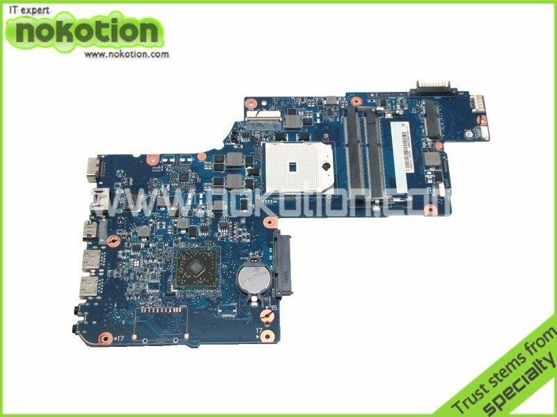 Ordinateur portable carte mère pour toshiba Satellite L875D AMD DDR3 H000043850 PLAC CSAC UMA Socket fs1