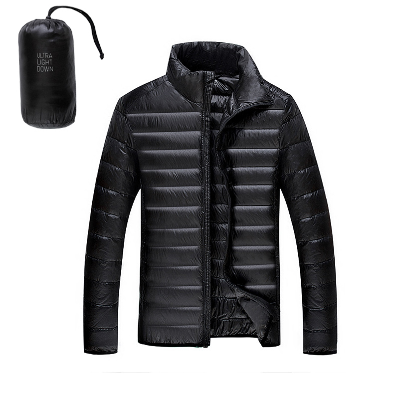 5XL 6XL 90%White Duck Down Jacket Winter Warm Jacket Coat Men's ...