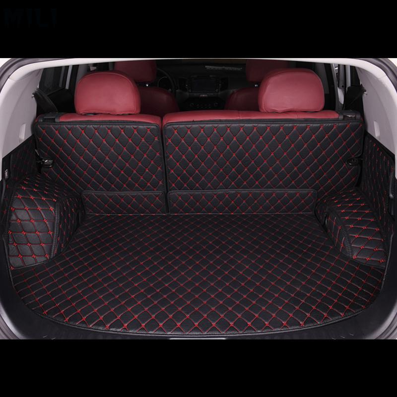 MILI Custom car trunk mats for Mazda all models CX-5 mazda 3 6 CX-4 CX-7CX-9 car stylingMILI Custom car trunk mats for Mazda all models CX-5 mazda 3 6 CX-4 CX-7CX-9 car styling