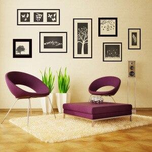 Новые креативные фото украшения наклейки на стену Современная гостиная домашний декор Stikers настенные наклейки плакат росписи
