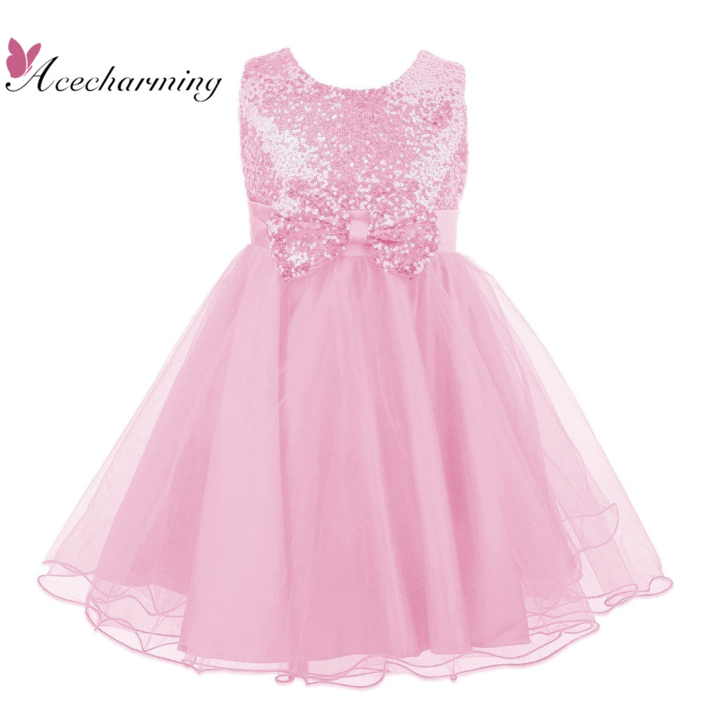 8 color summer 2017 clothes princess bow dress girls dresses for kids wedding birthday Party robe fille enfant free shipping chiaro паула 4 411011605