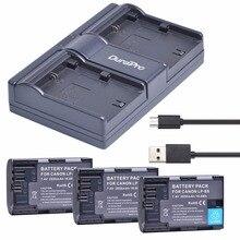 3x LP-E6 LPE6 LP E6 LP-E6N Перезаряжаемые Батарея + USB двойной Зарядное устройство для Canon EOS 5DS R 5D Mark II 3 5D Mark III 6D 7D 60D 60Da 70D