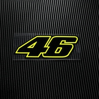 NO TKL005 6 MOTO GP SKB 46 Rossi Laminated Decals Motorcross Reflective Motorcycle Stickers Bike Windsheild