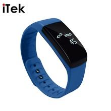 TK42C Smart Bracelet Bluetooth 4.0 Fitness Tracker Health Wristband Sleep Monitor OLED Screen Watch for iOS Android pk fitbits