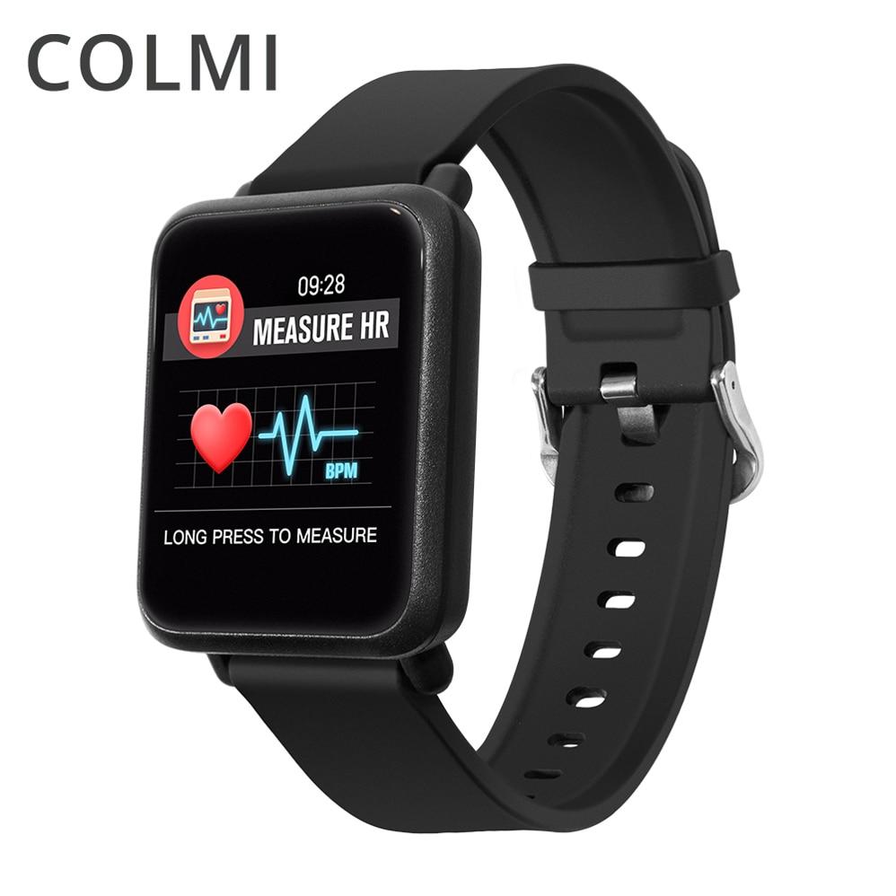 COLMI M28 inteligente pantalla grande reloj Monitor de ritmo cardíaco presión arterial sangre oxígeno SPO2 Multi Modo Sport natación Smartwatch