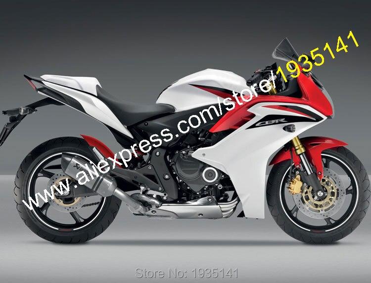 Carénages de carrosserie pour Honda CBR600F 2011 2012 2013 CBR 600 F CBR 600F 11 12 13 Kit de carénage de moto (moulage par Injection)