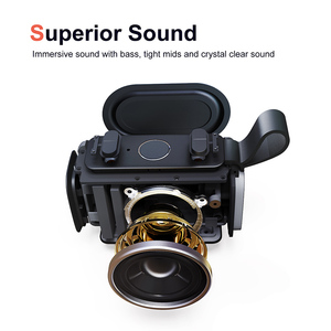 Image 2 - DOSS E go Outdoor IPX6 Waterproof Speaker Mini Bluetooth Portable Wireless Speakers shower speaker Support TF AUX USB for iPhone