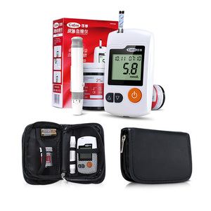Image 5 - Cofoe Yili Blood Glucose Meter & Test Strips & Lancets Needle Diabetic Tester Medical Blood Sugar Monitor Glucometer for People