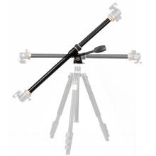 """Brazo de extensión cruzada para trípode 61cm/24 """", varilla Horizontal, montaje para cámara, giratorio, columna central, accesorio para tubo de trípode"""