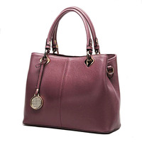 2019 Luxury bag women Black Genuine Leather Handbags Women Crossbody Bags gift for Young ladies Sac A Main Femme De Marque