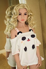 156cm Fashion  Top Quality  Sex Doll For Men, Full Size Silicone Artificial Vagina Pussy scarf realistic Blonde girl Adult Toys