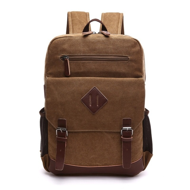 10accd271a New Arrive Original Z.L.D Canvas Leather Men Travel Bags Men Duffel Bags  Travel Tote Weekend Bag Overnight Laptop Backpacks B7