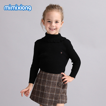 Kids Girls Sweaters Tops Soft Cotton Knitted Toddler Knitwear Winter Long Sleeve Children's Pullovers Autumn Outerwear Clothes