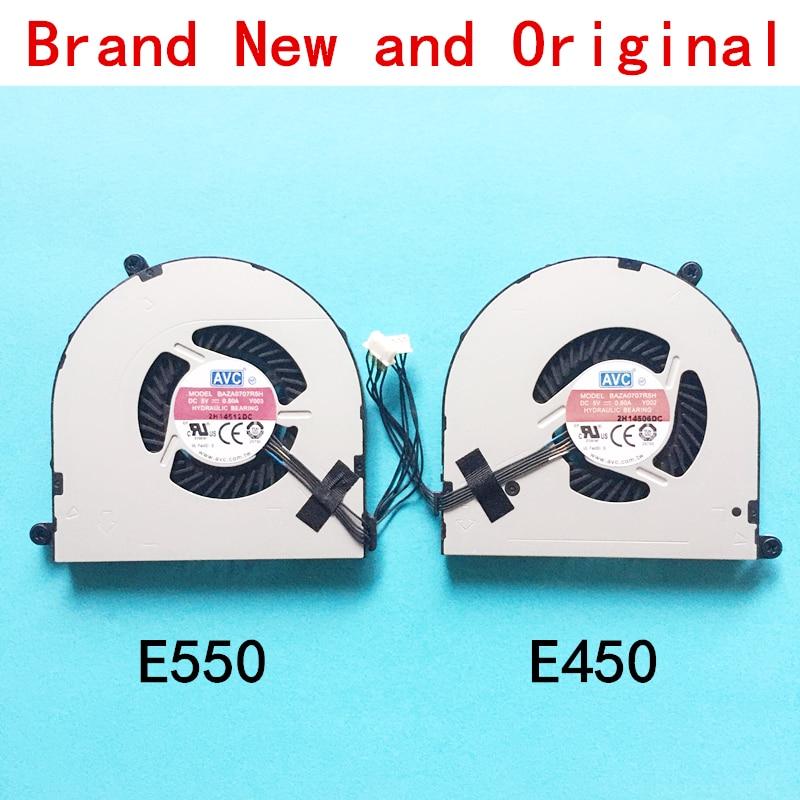 New CPU laptop cooling fan Notebook Cooler radiador para LENOVO THINKPAD E450 E450C E455 E455C E550 E560 E550C E555 E555C e565