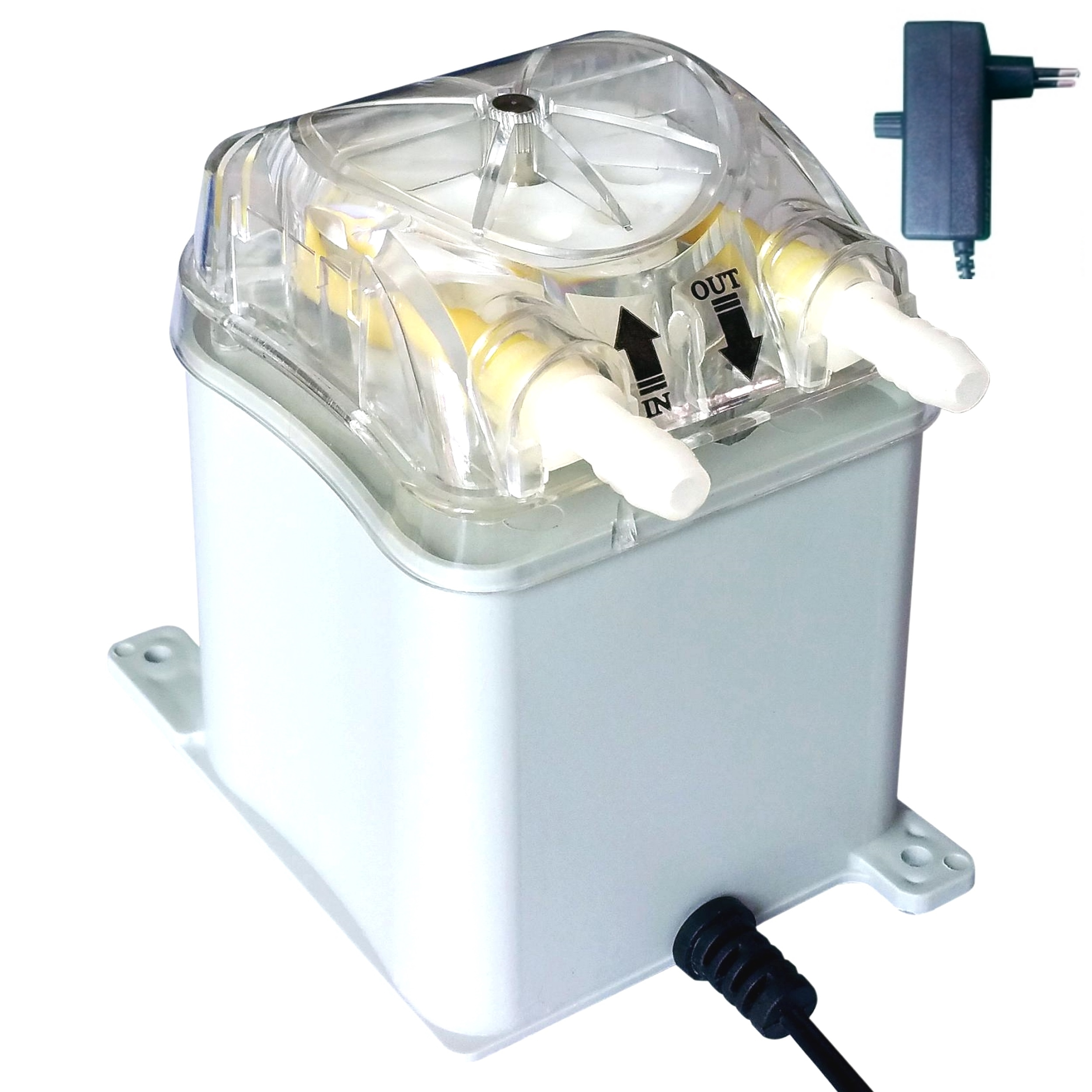 1000ml/min, 30psi, 230Vac Honlite Peristaltic Pump With Exchangeable Pump Head, PharMed BPT Peristaltic Tube And Transformer