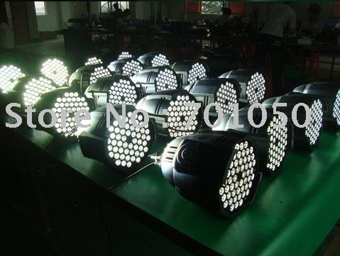 white color par can stage light & free shipping