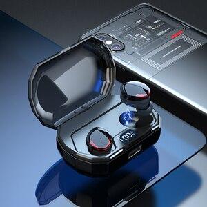 Image 2 - Auriculares Bluetooth 5,0 TWS R10 5,0 auriculares inalámbricos con micrófono a prueba de agua para teléfono inteligente