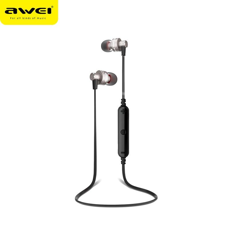 Original Awei Stereo Bluetooth Earphone Wireless Headphone