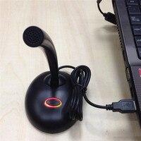 Новый горячая Распродажа портативный Студия Речь Mini USB микрофон с подставкой для Microfono для общения рука бесплатная компьютер микрофон