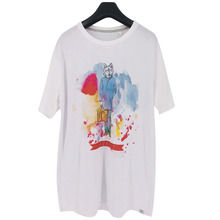 LAUKEXIN USA SIZE Big and Tall Men Women White Fox Workman Funny Print  Summer Fashion Style T Shirt Custom Brand Clothing Tops 970e83203a0a