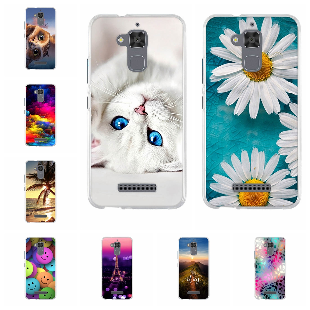 Phone Case For <font><b>Asus</b></font> Zenfone 3 Max ZC520TL <font><b>X008D</b></font> Cover For Zenfone3 Max Zenfone Pegasus 3 horse 3 X008 5.2 Case Cover TPU Silicon image